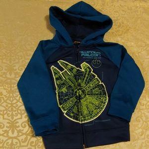 Star Wars sweatshirt boys size 4